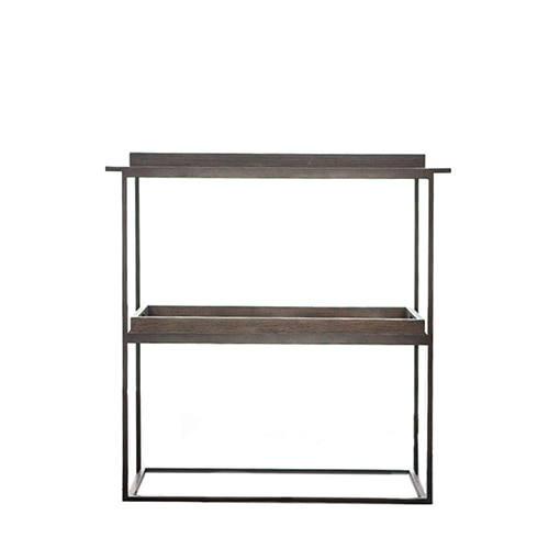 ETHNICRAFT Notremonde Wood Tray Table 노트르몽 우드 트레이 테이블 (2단)